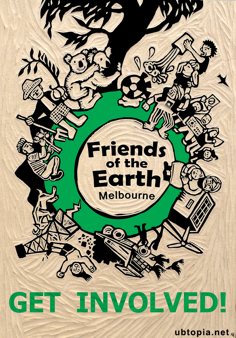 Friends of the Earth poster